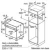 Bosch SÜTŐ BEÉPÍTHETŐ ELEKTROMOS HBA5570B0