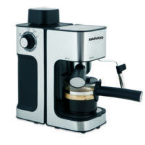 Daewoo presszó kávéfőző tejhabosító funkcióval, 800 W, DES-485