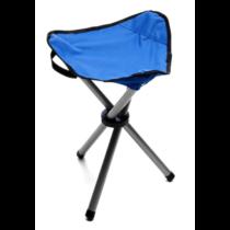 Falcon Kemping-horgász szék, 3 lábú, kék, zöld színekben, YM-2204