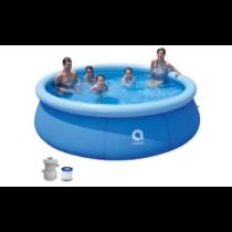 Avenli családi puhafalú medence 360*76cm