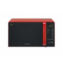 Daewoo mikrohullámú sütő 800 W 20 L piros KOR-6S3DBR