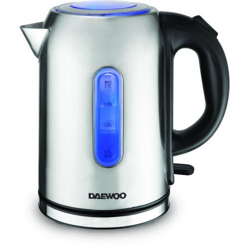 Daewoo vezeték nélküli elektromos vízforraló, 2200 W, 1,7 liter DEK-1237