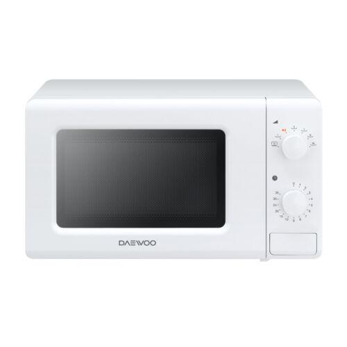 Daewoo Mikrohullámú sütő Grill funkcióval, 20 L, 700 W, Fehér, KOR-6620TW