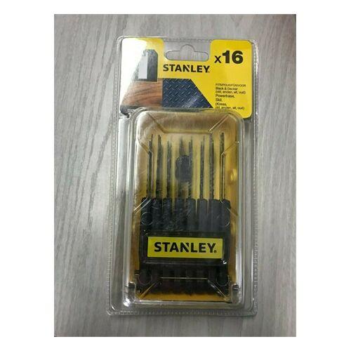 Stanley 16 db-os fűrészszár készlet dekopírfűrészhez STA28170-XJ